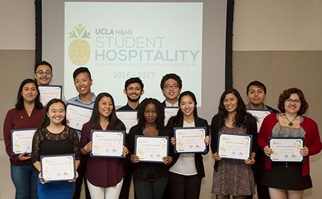Graduates from the Student Hospitality Leadership Development Program