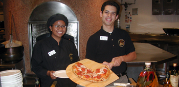 Student Food Service Workers at Covel Dining